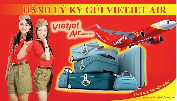 Hành lý ký gửi Vietjjet air