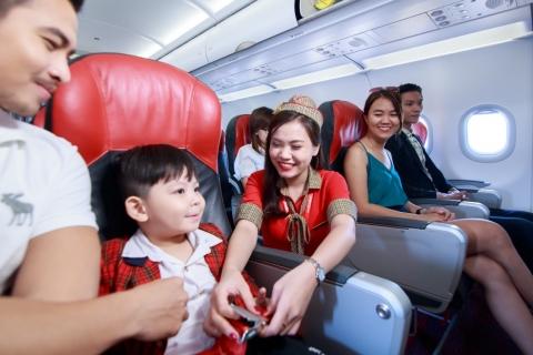 Giá vé máy bay cho trẻ em của VietNam Airline, Vietjet Air, Jetstar Pacific 2019
