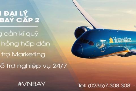 Trở thành đại lý vé máy bay cấp 2 của VNBAY với chính sách hỗ trợ có 102