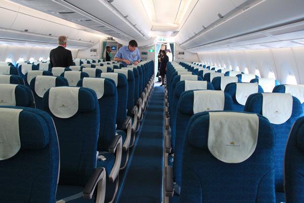 lựa chọn chỗ ngồi trên máy bay VietNam Airlines